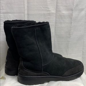 UGG Ultra Short Black Boots